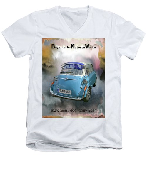 Classic Bmw 600 Men's V-Neck T-Shirt