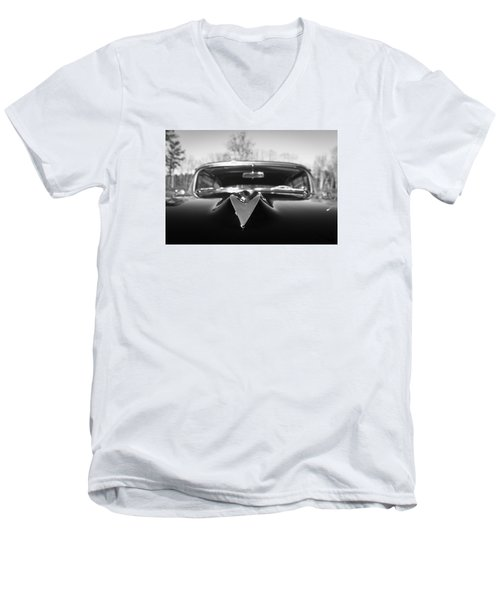 Men's V-Neck T-Shirt featuring the photograph Classic Buick II by Wade Brooks