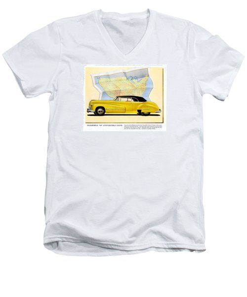 Classic Car Ads Men's V-Neck T-Shirt