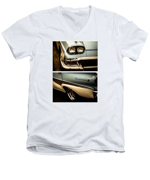 Classic Duo 1 Men's V-Neck T-Shirt by Ryan Weddle