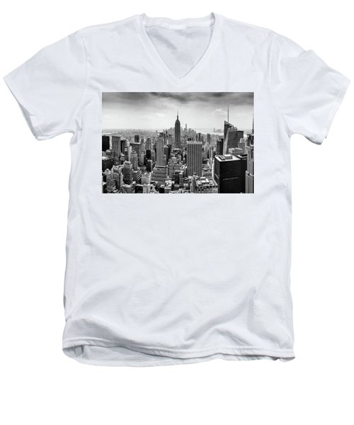 Classic New York  Men's V-Neck T-Shirt