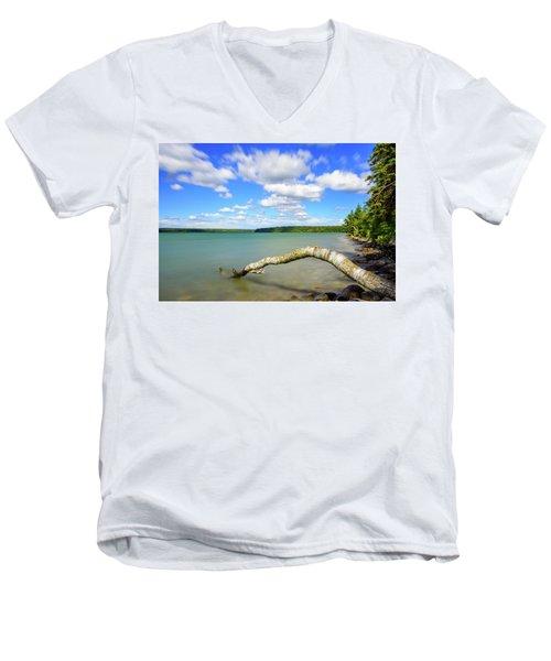 Clear Lake Men's V-Neck T-Shirt