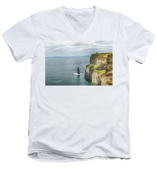 Cliffs Of Moher 3 Men's V-Neck T-Shirt