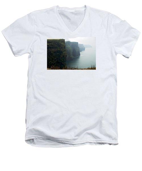 Cliffs Of Moher Men's V-Neck T-Shirt