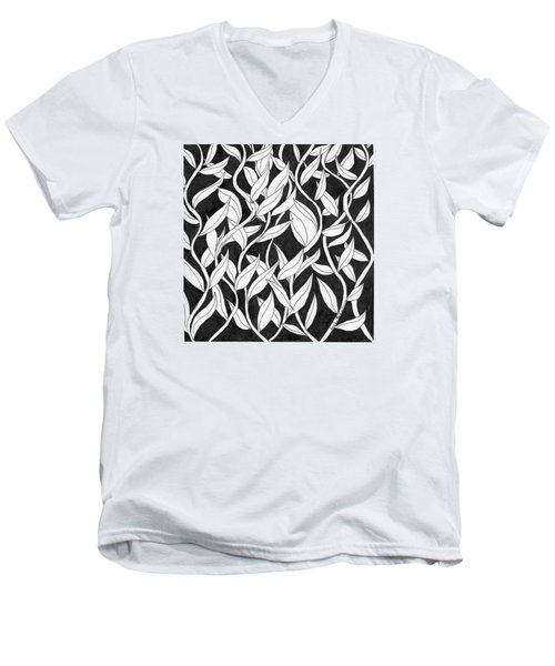 Climb The Vine Men's V-Neck T-Shirt by Lou Belcher