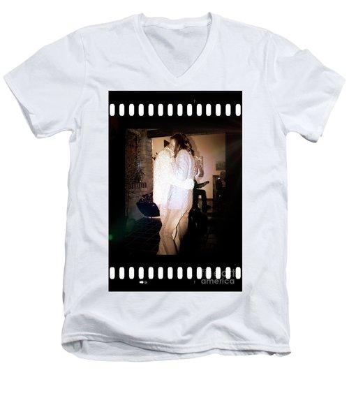 Men's V-Neck T-Shirt featuring the photograph Closeness by Al Bourassa