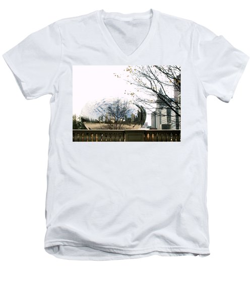 Cloud Gate - 1 Men's V-Neck T-Shirt