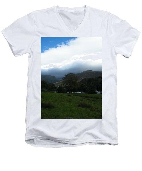 Cloudy Hills Men's V-Neck T-Shirt