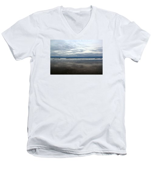 Cloudy Reflections Men's V-Neck T-Shirt