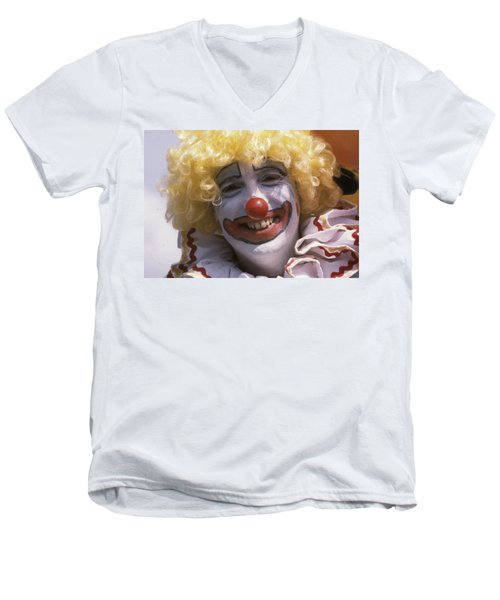 Clown-1 Men's V-Neck T-Shirt
