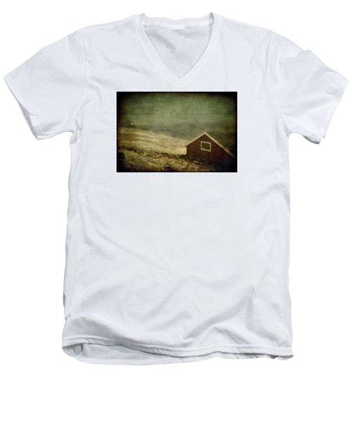 Coast Of Norway Men's V-Neck T-Shirt by Vittorio Chiampan
