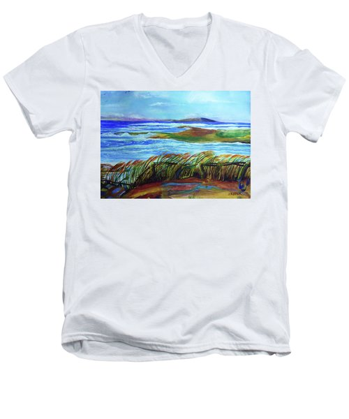 Coastal Winds Men's V-Neck T-Shirt