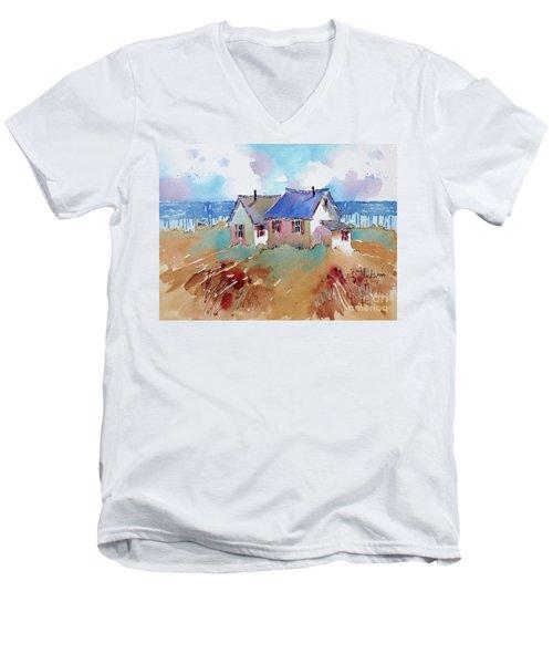 Coastal Charm Men's V-Neck T-Shirt