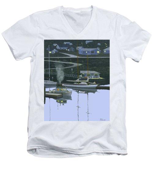 Coastal Morning Men's V-Neck T-Shirt