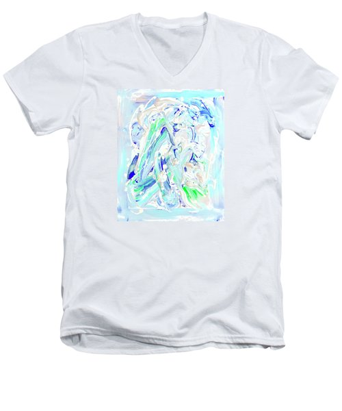 Coastal Splash Men's V-Neck T-Shirt