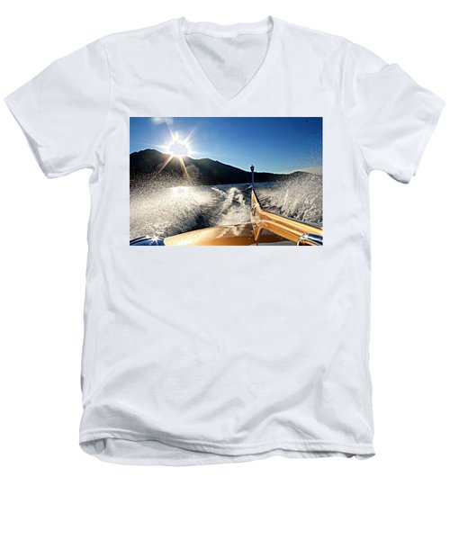 Cobra Tail Men's V-Neck T-Shirt