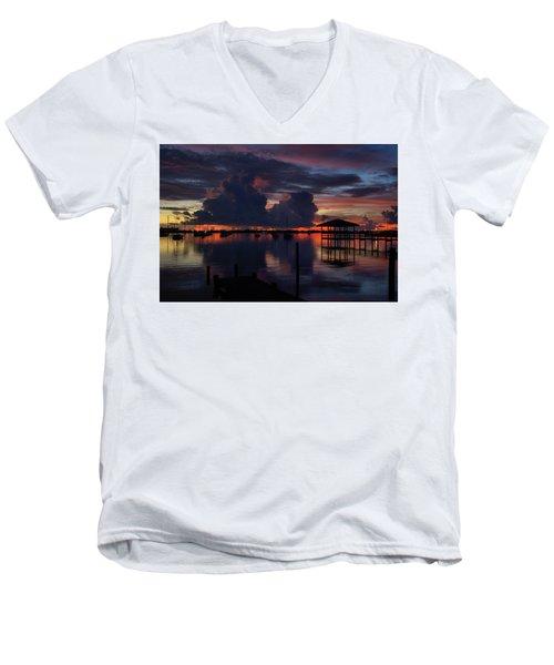 Cocoa Bay Men's V-Neck T-Shirt