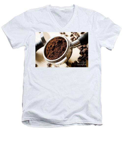 Coffee #10 Men's V-Neck T-Shirt