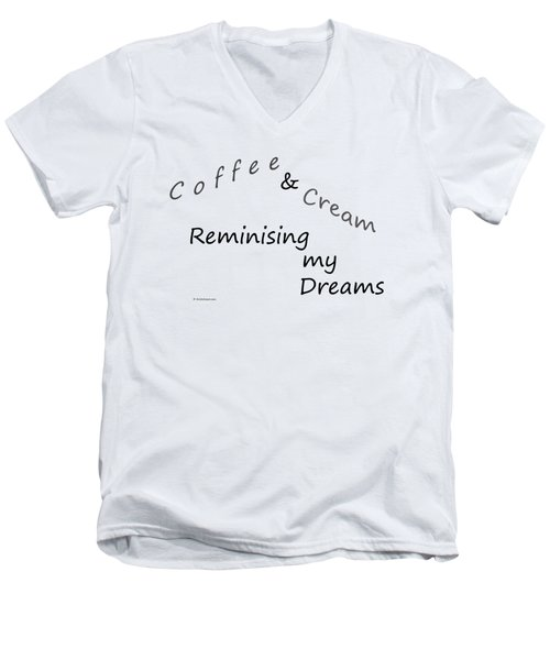 Coffee And Cream Mug Men's V-Neck T-Shirt