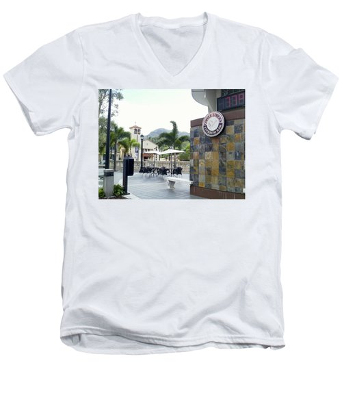 Coffee Lover's Expresso Bar 3 Men's V-Neck T-Shirt