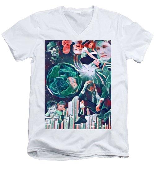 Cognitive Dissonance Men's V-Neck T-Shirt