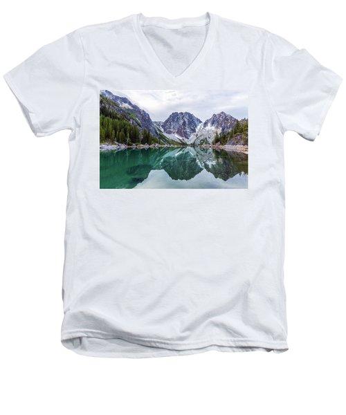Colchuck Lake Men's V-Neck T-Shirt