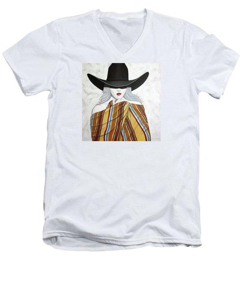 Cold Hottie Men's V-Neck T-Shirt