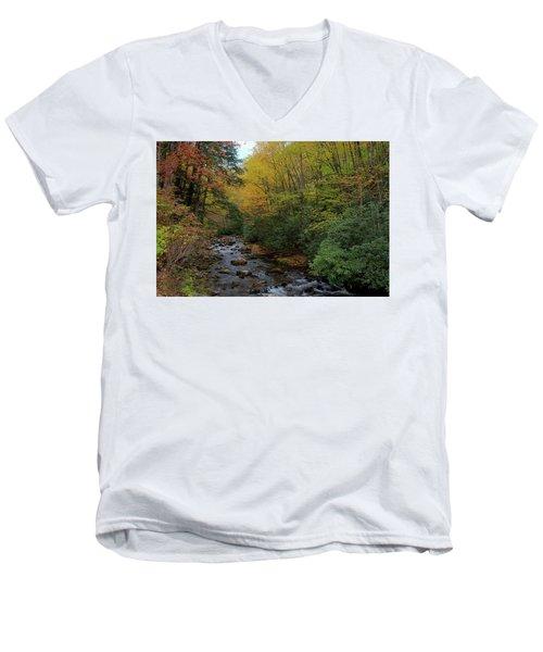 Cold Stream Men's V-Neck T-Shirt