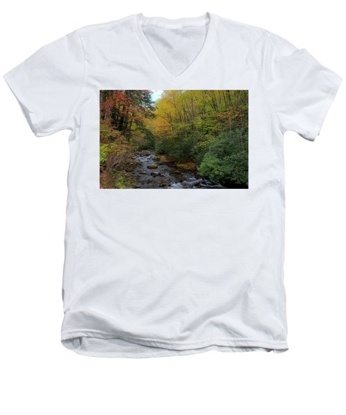 Cold Stream Men's V-Neck T-Shirt