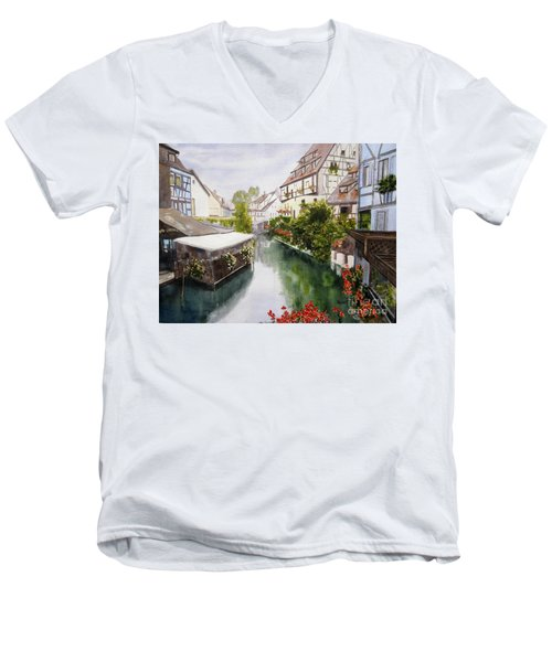 Colmar Canal Men's V-Neck T-Shirt