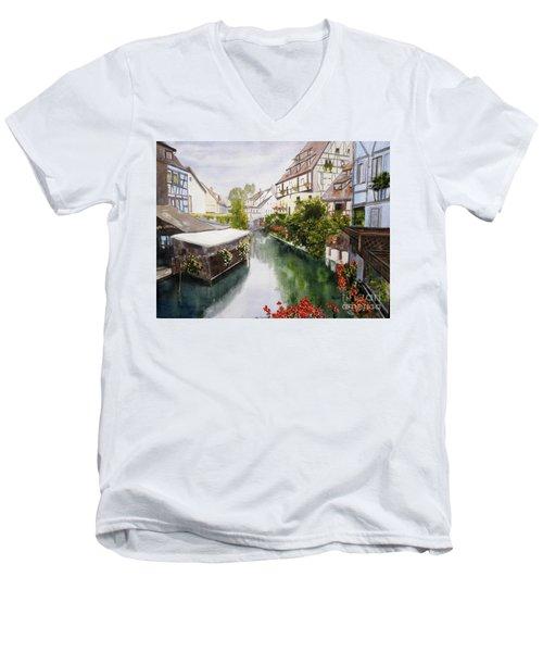 Colmar Canal Men's V-Neck T-Shirt