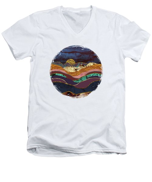Color Fields Men's V-Neck T-Shirt