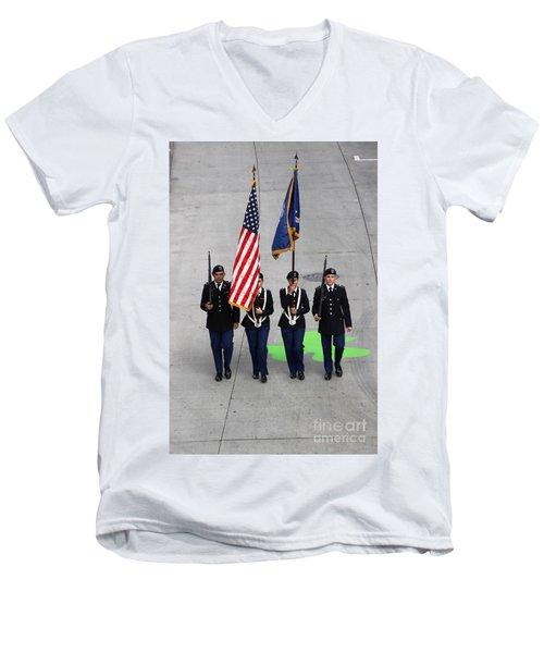 Color Guard Men's V-Neck T-Shirt