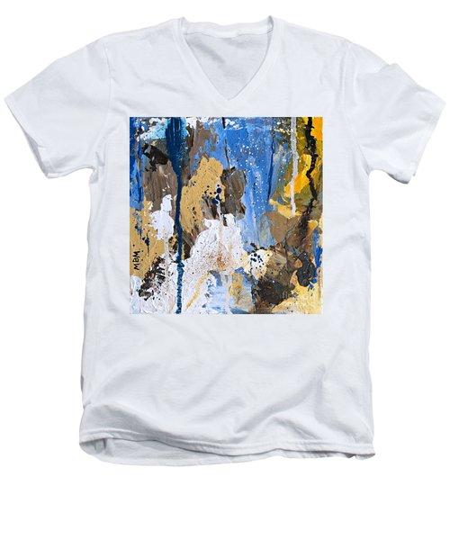 Color Play No. 1 Men's V-Neck T-Shirt