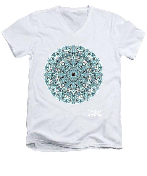colorDrawMandalalesson Men's V-Neck T-Shirt