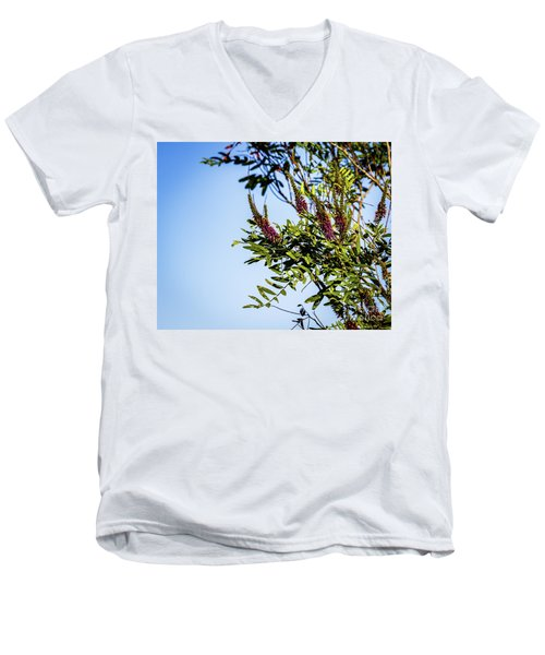 Colorful Tree Men's V-Neck T-Shirt