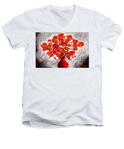 Colors Of Love Men's V-Neck T-Shirt