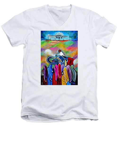 Colors Of Rajasthan Men's V-Neck T-Shirt