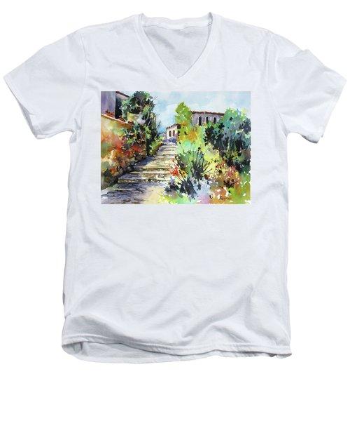Colors Of Spain Men's V-Neck T-Shirt