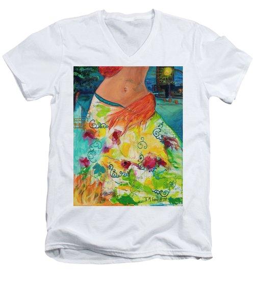 Combustible Men's V-Neck T-Shirt
