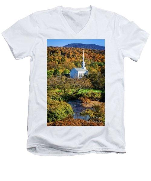Community Church Men's V-Neck T-Shirt