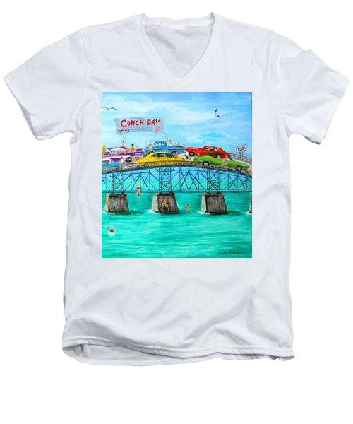 Conch Day Men's V-Neck T-Shirt