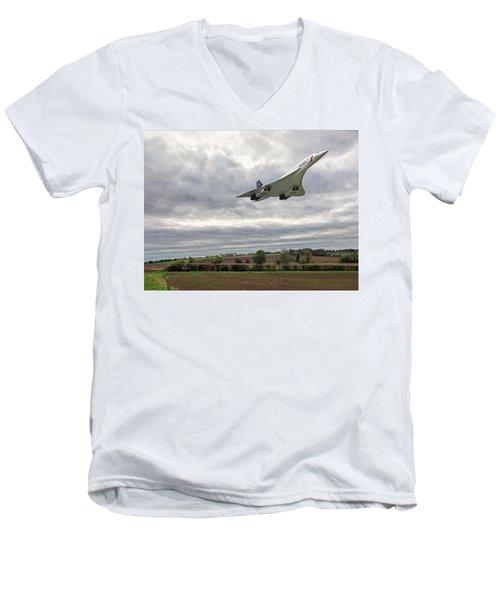 Concorde - High Speed Pass Men's V-Neck T-Shirt