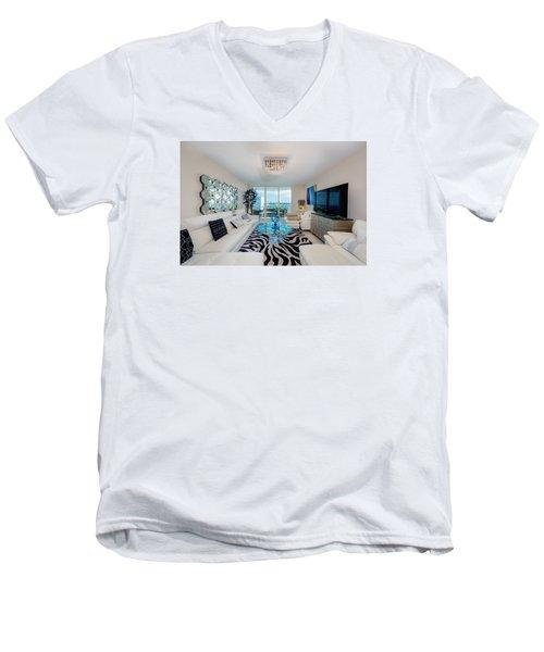 Condo Living Men's V-Neck T-Shirt