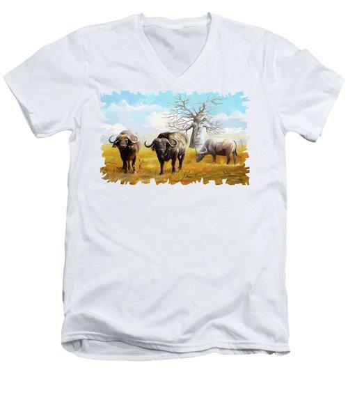 Confidence Men's V-Neck T-Shirt