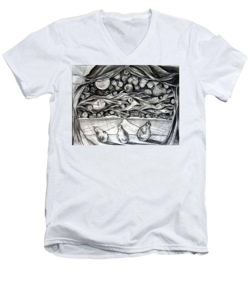 Consequence Beyond The Horizon - Study Men's V-Neck T-Shirt