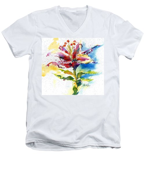 Consider The Lily Men's V-Neck T-Shirt