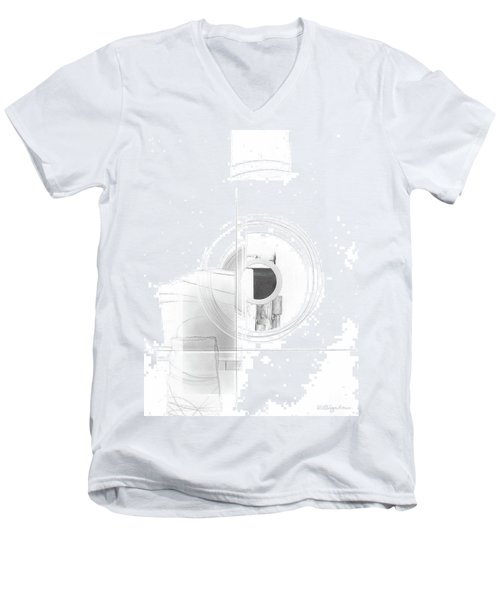 Construction No. 3 Men's V-Neck T-Shirt
