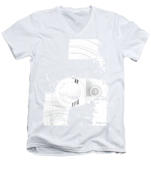Construction No. 1 Men's V-Neck T-Shirt