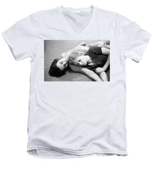 Contemplation, Part 2, 1973 Men's V-Neck T-Shirt